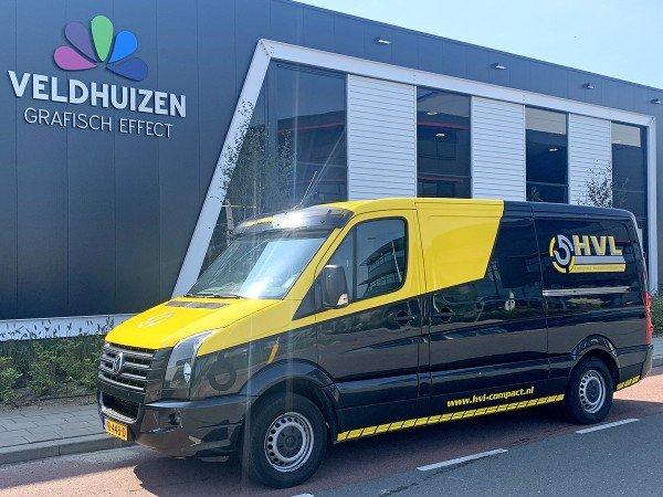 Bedrijfswagen-belettering - Veldhuizen Grafisch Effect - Barneveld