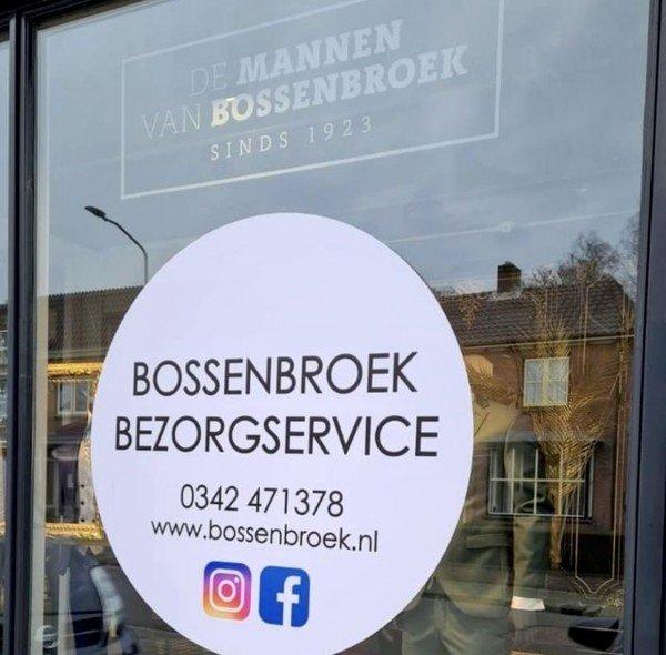 Raamstickers - Veldhuizen Grafisch Effect - Barneveld