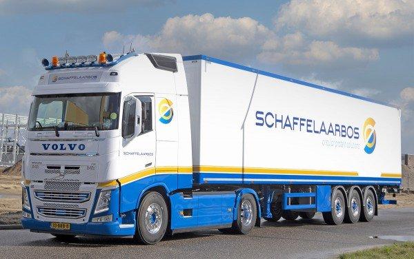 Vrachtwagen-belettering - Veldhuizen Grafisch Effect - Barneveld