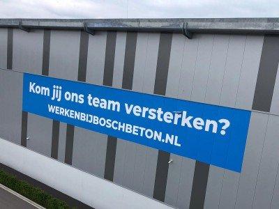 Bosch Beton gevelreclame